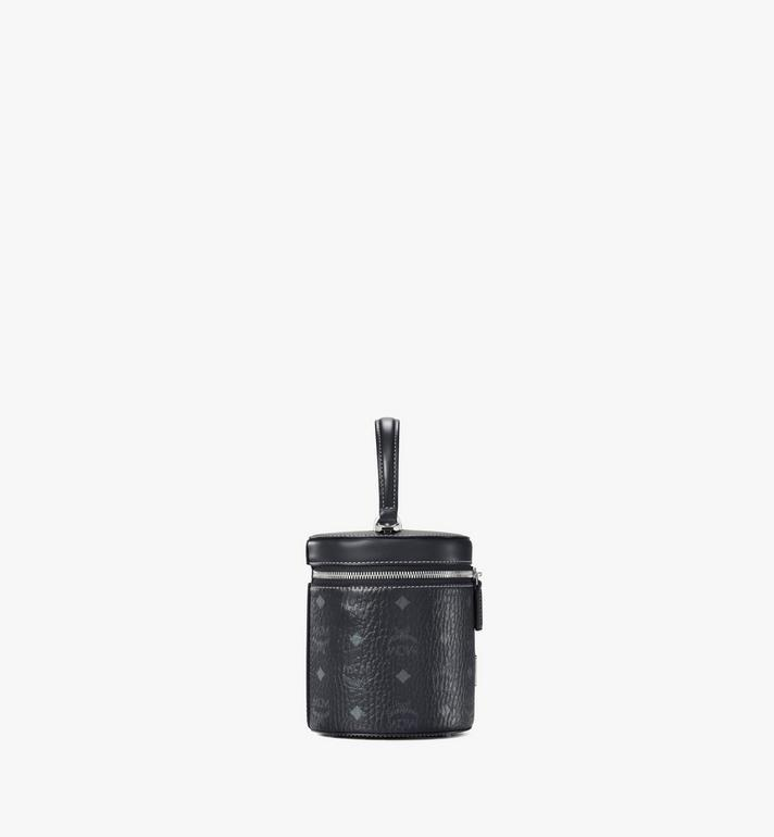 MCM กระเป๋าครอสบอดี้ทรงกระบอกลาย Visetos Black MWRAACG01BK001 Alternate View 2