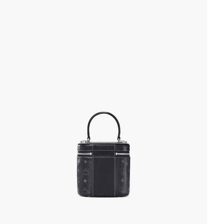 MCM Cylinder Crossbody in Visetos Black MWRAACG01BK001 Alternate View 4