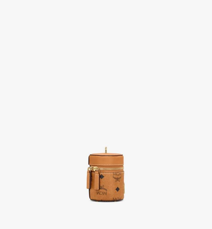 MCM Cylinder Crossbody in Visetos Cognac MWRAACG03CO001 Alternate View 2
