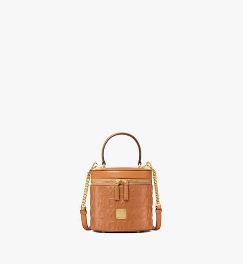 Cylinder Crossbody in MCM Monogram Leather