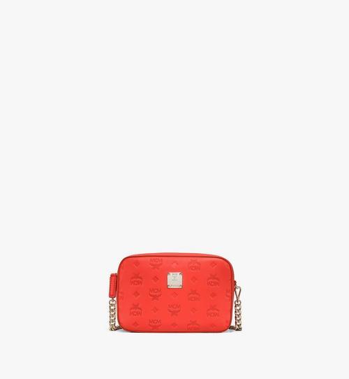 Crossbody-Tasche aus Leder mit Monogramm