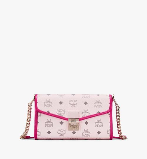 กระเป๋าครอสบอดี้ Millie ลาย Visetos วัสดุหนังสีคัลเลอร์บล็อก