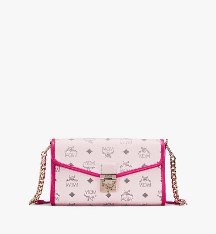 MCM Millie Crossbody-Tasche in Visetos Leather Block Alternate View