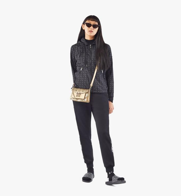MCM Patricia Crossbody in Studded Outline Visetos Gold MWRAAPA05T1001 Alternate View 5