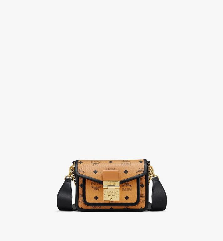 MCM Patricia Crossbody-Tasche in Visetos Leather Block Alternate View