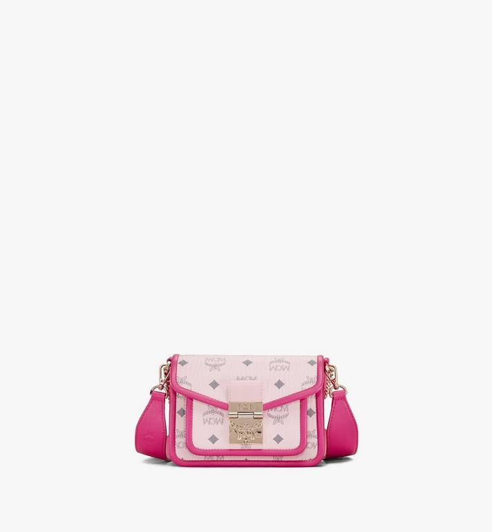 MCM Patricia Crossbody in Visetos Leather Block Pink MWRAAPA07QH001 Alternate View 1