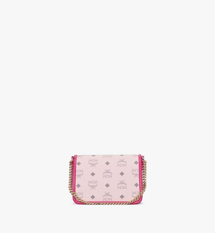 MCM Patricia Crossbody in Visetos Leather Block Pink MWRAAPA07QH001 Alternate View 4