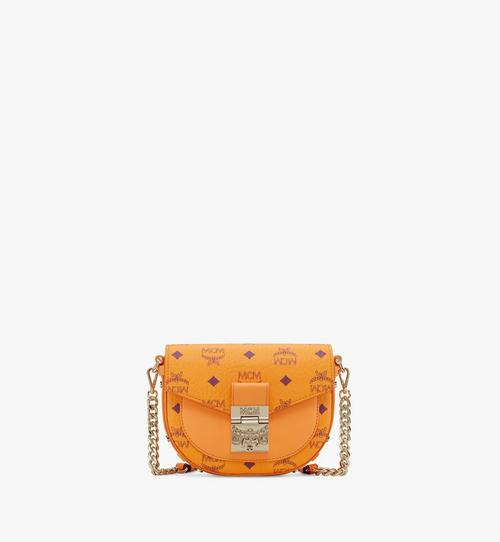 Runde Patricia Crossbody-Tasche in Visetos