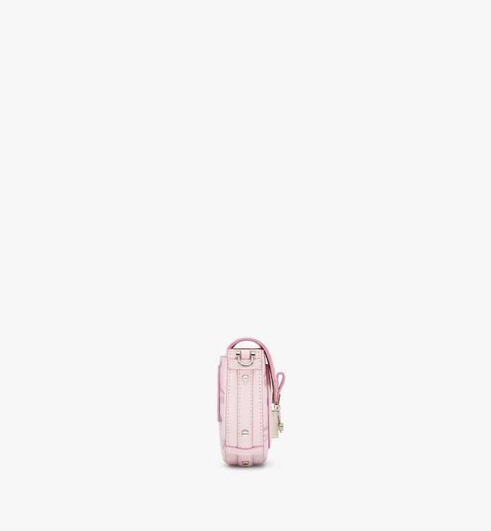 MCM Runde Patricia Crossbody-Tasche in Visetos Pink MWRAAPA08QH001 Alternate View 2