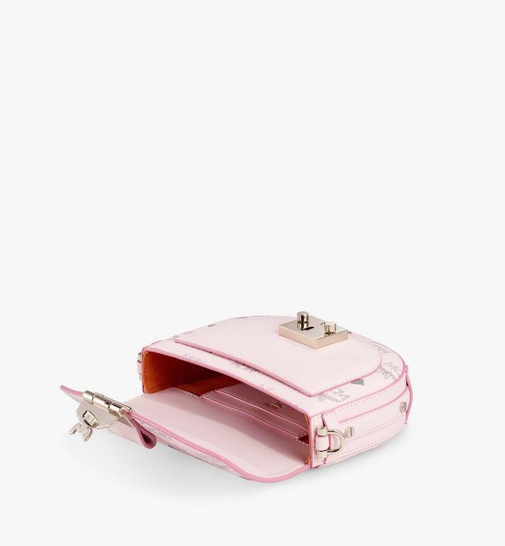 MCM Runde Patricia Crossbody-Tasche in Visetos Pink MWRAAPA08QH001 Alternate View 3