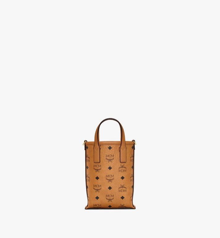 MCM กระเป๋าครอสบอดี้ Essential ลาย Visetos Cognac MWRAASE03CO001 Alternate View 4