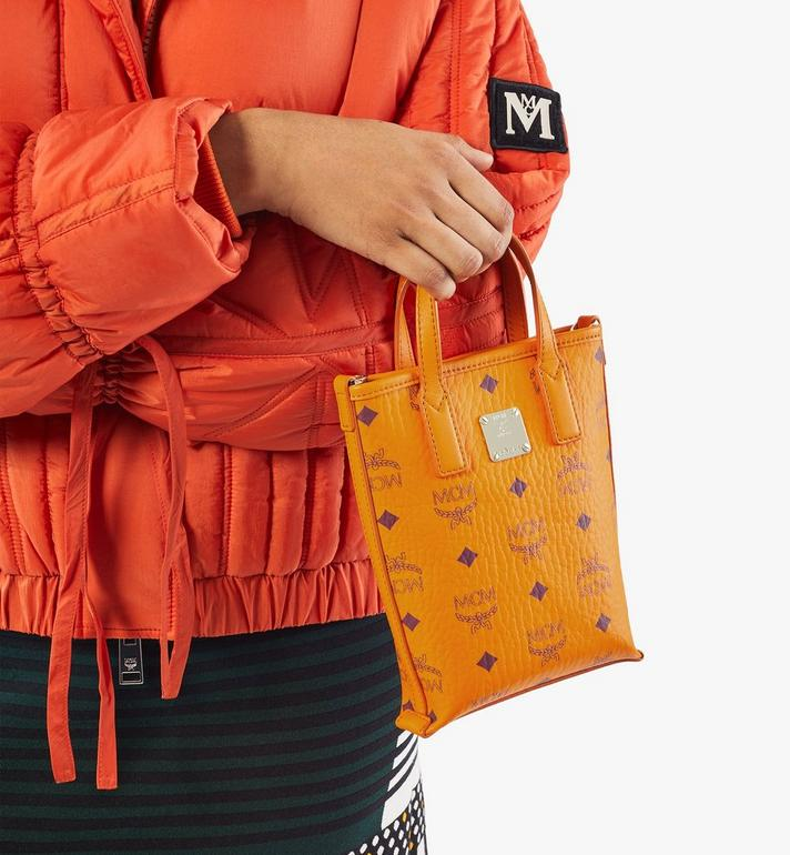 MCM กระเป๋าครอสบอดี้ Essential ลาย Visetos Gold MWRAASE03O5001 Alternate View 8