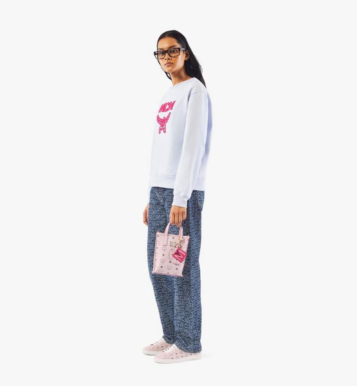 MCM กระเป๋าครอสบอดี้ Essential ลาย Visetos Pink MWRAASE03QH001 Alternate View 5