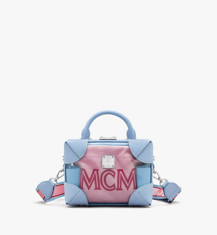 MCM E/W Soft Berlin 幻彩斜揹包 Blue MWRASBF03H2001 Alternate View 1