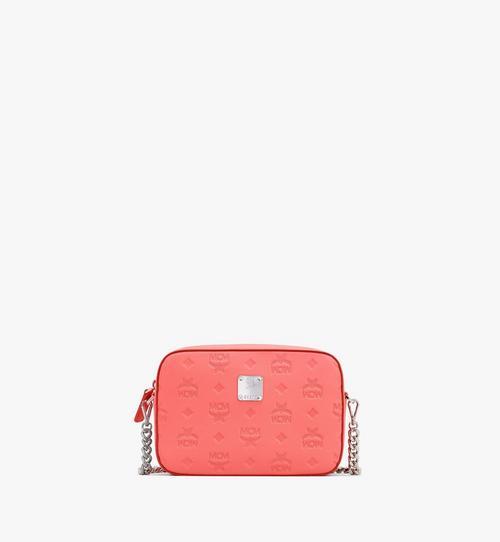 Klara Crossbody-Tasche aus Leder mit Monogramm