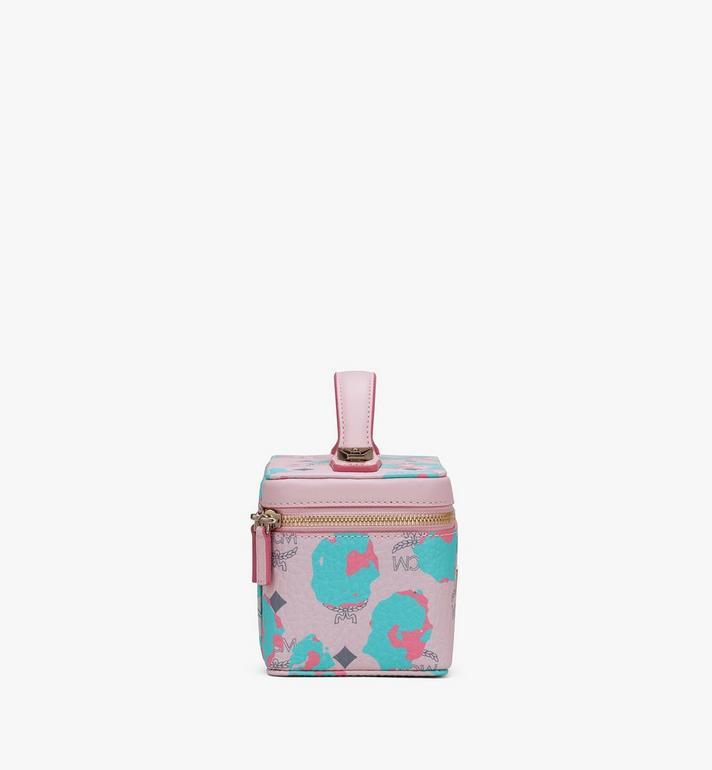 MCM Rockstar Vanity Case in Floral Leopard Pink MWRASLF02QI001 Alternate View 2