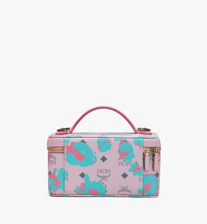 MCM Rockstar Vanity Case in Floral Leopard Pink MWRASLF02QI001 Alternate View 3