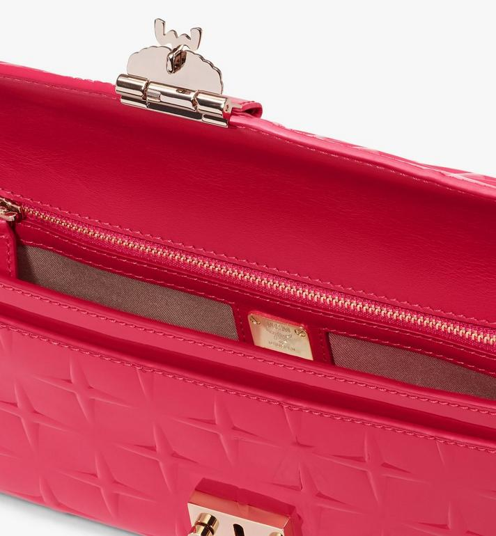 MCM Millie菱紋漆皮斜揹包 Pink MWRASME01QE001 Alternate View 3