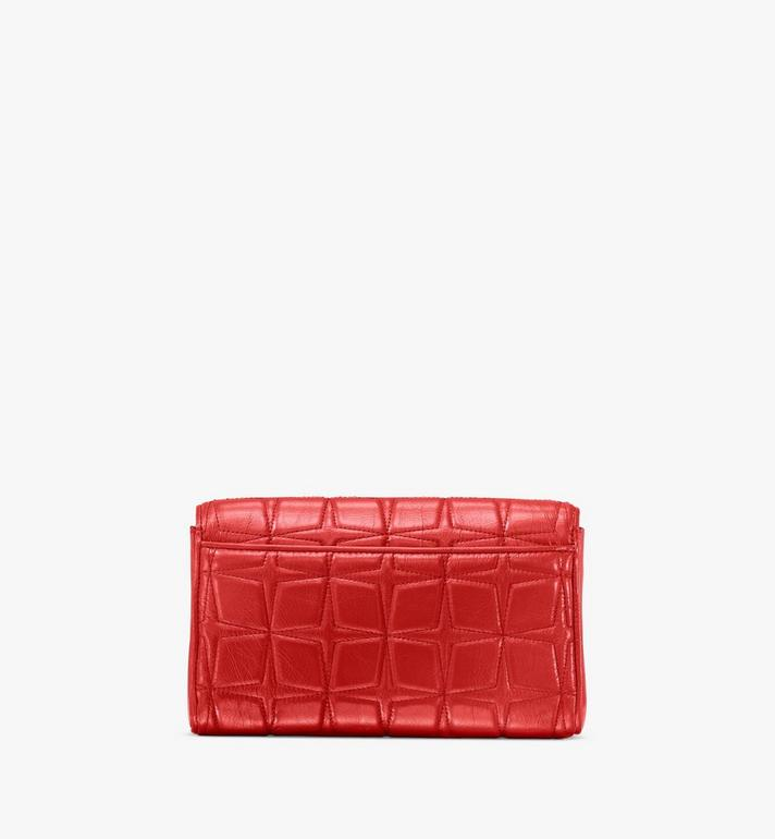 MCM Millie Crossbody in Quilted Leather Red MWRASME02R4001 Alternate View 2