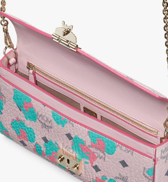 MCM Millie Crossbody in Floral Leopard Pink MWRASME04QI001 Alternate View 3
