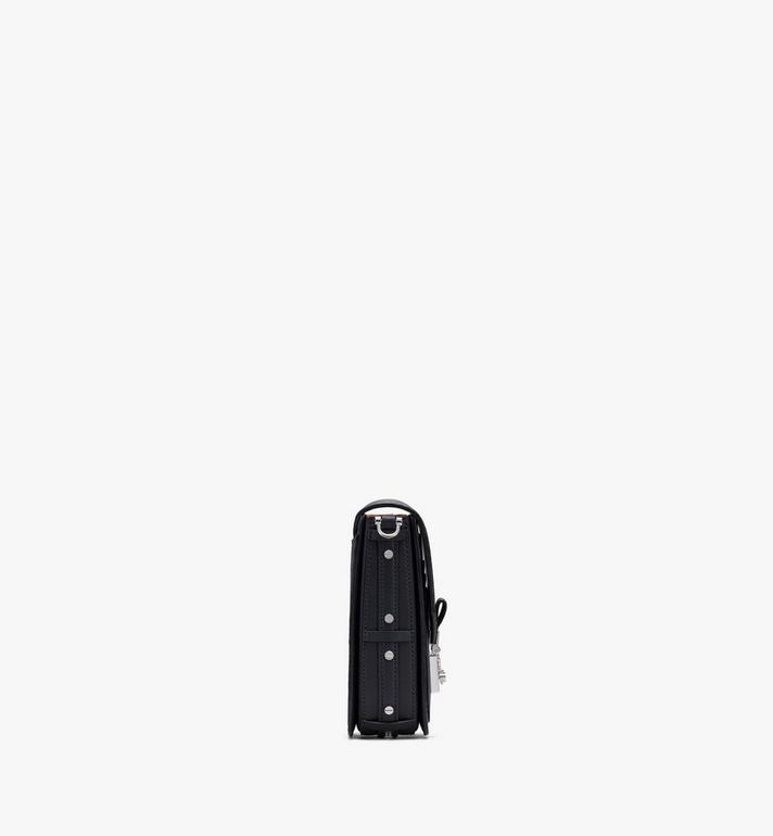 MCM Patricia Mini-Crossbody-Tasche in Visetos Black MWRASPA04BK001 Alternate View 2