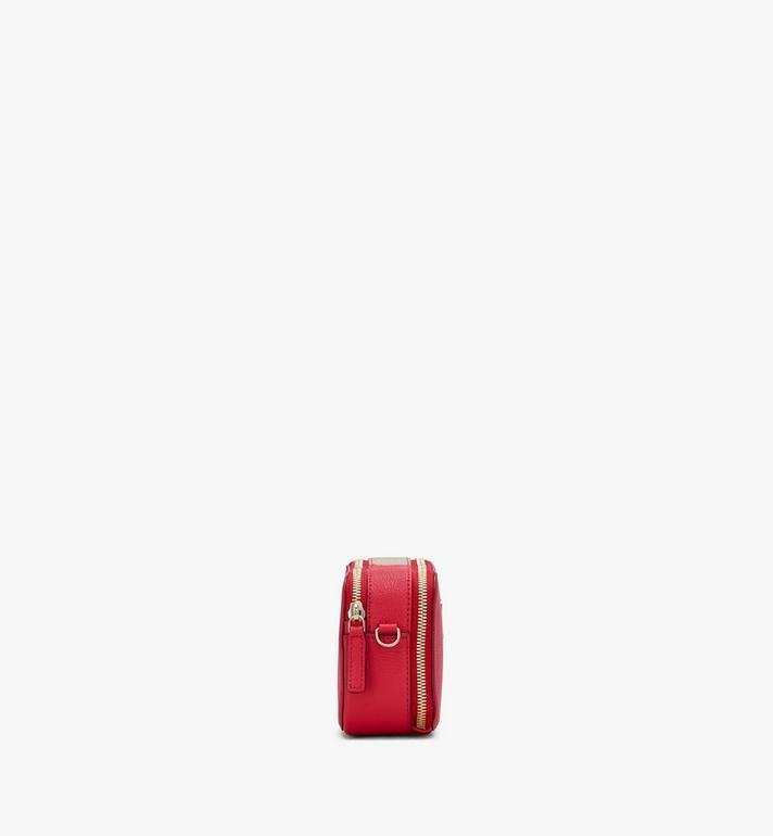 MCM Essential迪斯科相機袋 Red MWRASSE01R4001 Alternate View 2