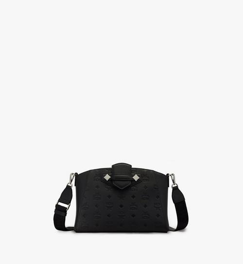 Essential Crossbody-Tasche aus Leder mit Monogramm