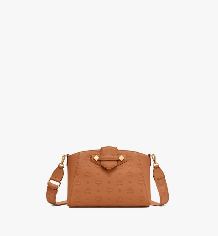 MCM Essential Crossbody Bag in Monogram Leather Alternate View