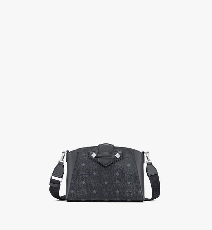 MCM Essential Crossbody Bag in Visetos Original Alternate View