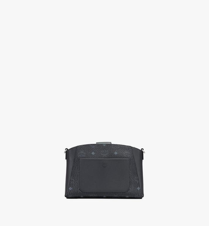 MCM Essential Crossbody-Tasche in Visetos Original Black MWRASSE07BK001 Alternate View 3