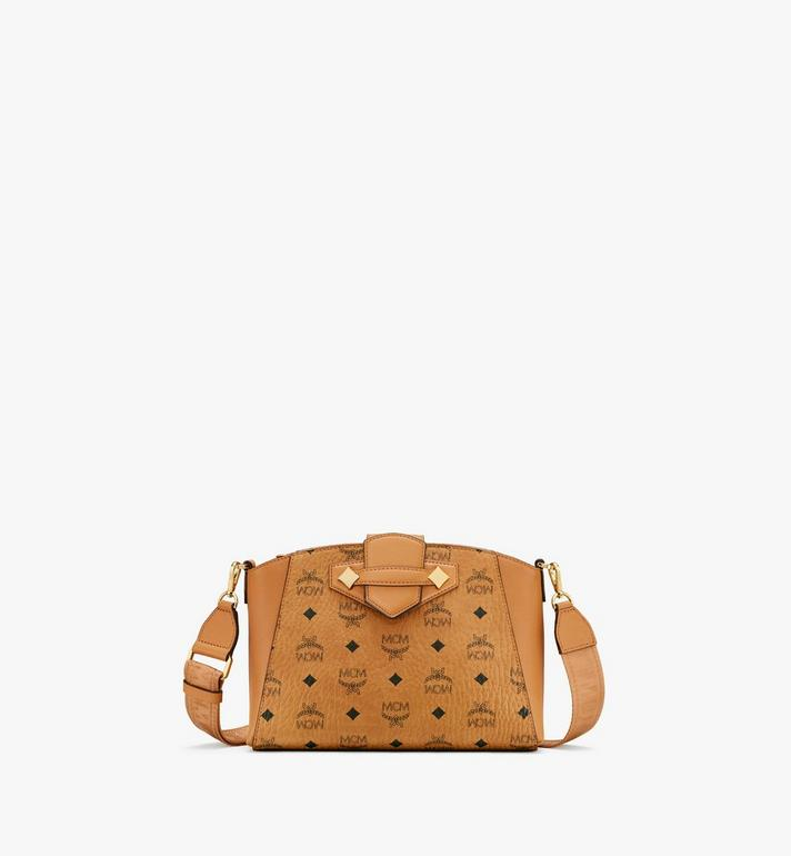 MCM Essential Crossbody Bag in Visetos Original Alternate View