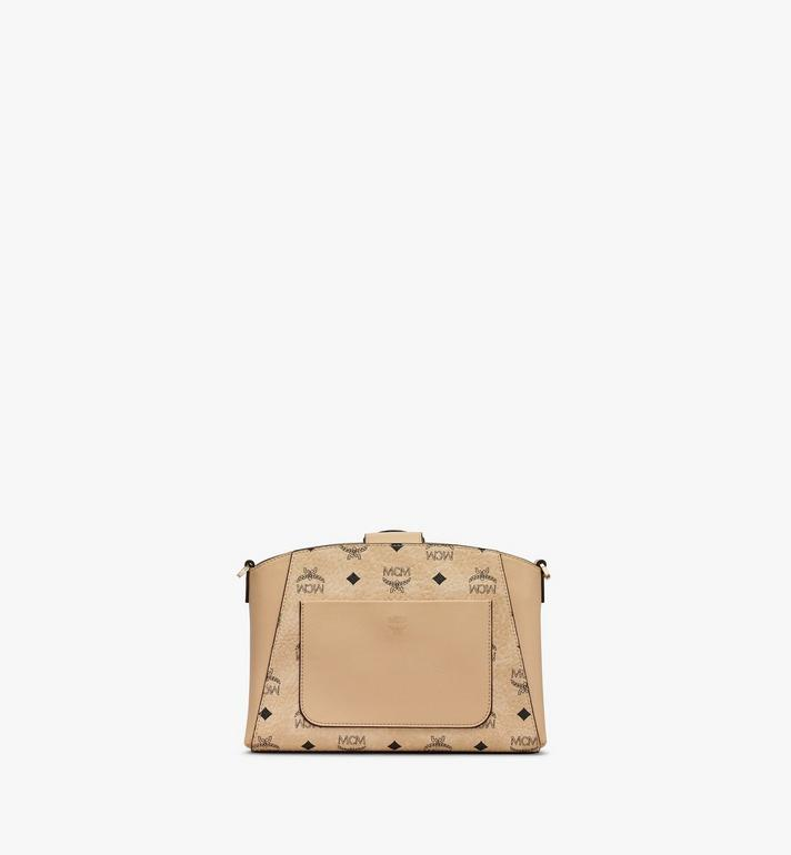MCM Essential Crossbody Bag in Visetos Original Beige MWRASSE07IG001 Alternate View 3