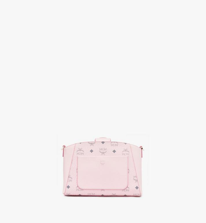 MCM Essential Crossbody Bag in Visetos Original Pink MWRASSE07QH001 Alternate View 3