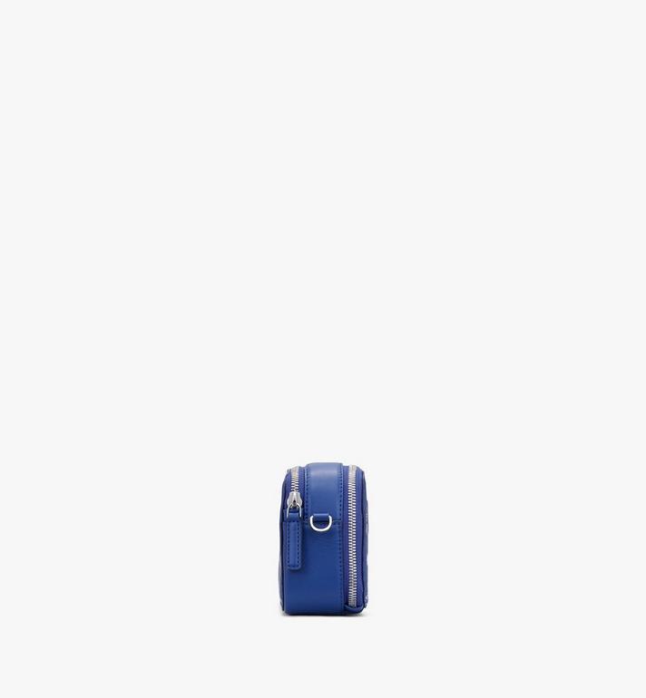 MCM E/W Camera Bag in Visetos Original Blue MWRASVI01H1001 Alternate View 2