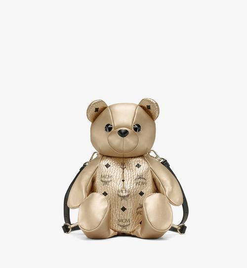 กระเป๋าเป้สะพายหลัง MCM Zoo Bear ลาย Visetos