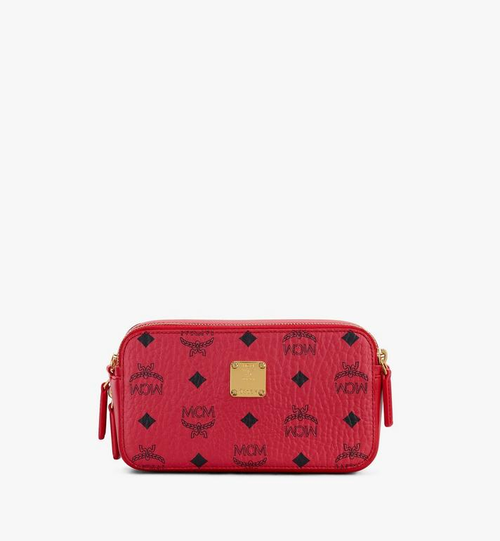 MCM Year Of The Mouse Camera Bag Red MWRASXL06RJ001 Alternate View 3
