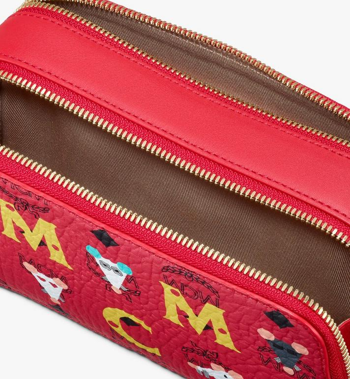 MCM Year Of The Mouse Camera Bag Red MWRASXL06RJ001 Alternate View 4