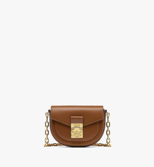 PatriciaCrossbody-Tasche aus geprägtem spanischen Leder