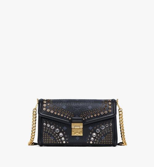 Millie Crossbody in Crystal Visetos