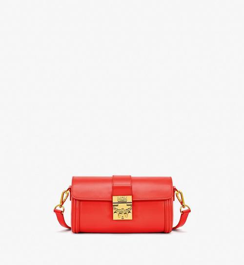 Tracy Crossbody-Tasche aus geprägtem spanischen Leder