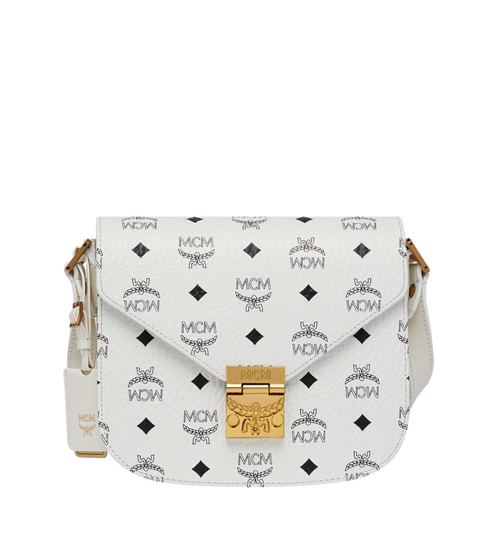 MCM Patricia Shoulder in Visetos Alternate View 1