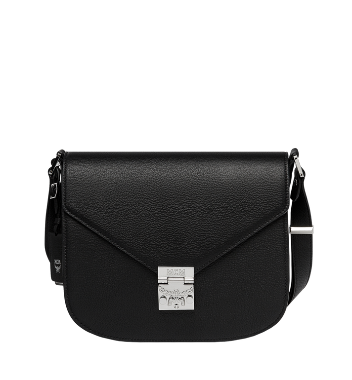 MCM Patricia Shoulder in Grained Leather Alternate View