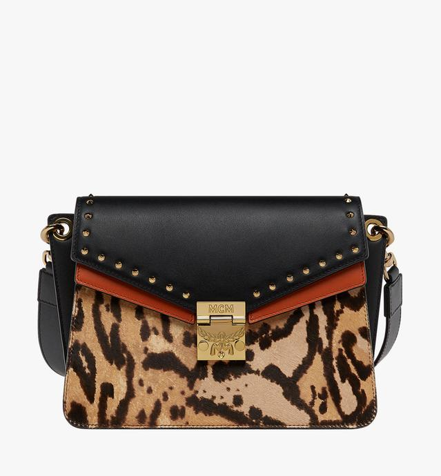 Mezzanin Shoulder Bag in Leopard Combo