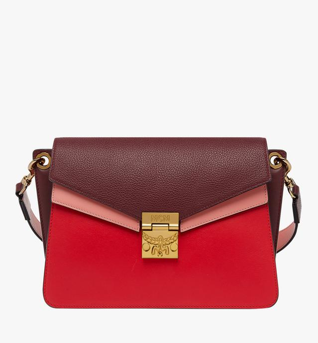 Mezzanin Shoulder Bag in Colorblock Leather