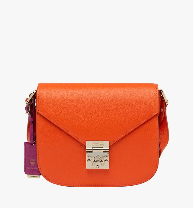 Patricia Shoulder Bag in Grained Leather