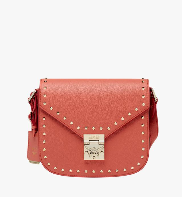 Patricia Shoulder Bag in Studded Outline Leather