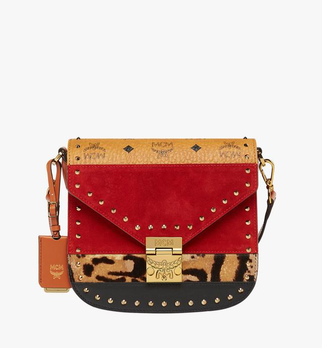 Patricia Shoulder Bag in Leopard Combo