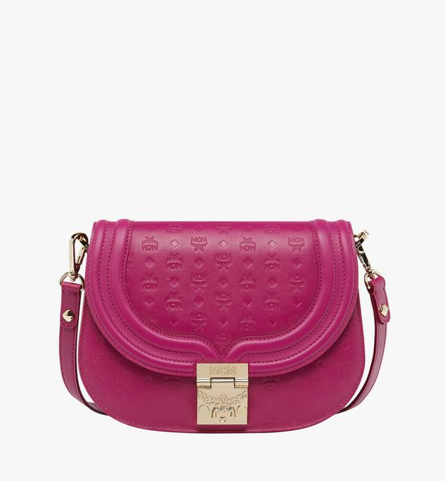 Trisha Shoulder Bag in Monogram Leather