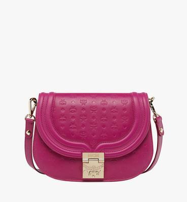 Trisha Shoulder Bag in Monogram Leather