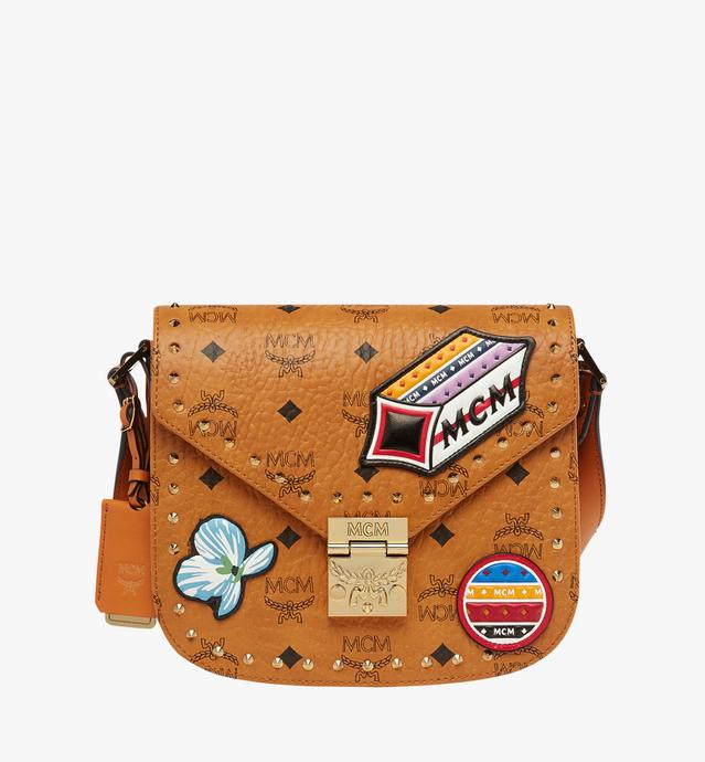 Patricia Victory Patch Schultertasche in Visetos